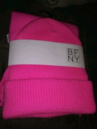 Hot Pink Beanie and Scarf