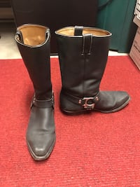 Men's Rider Boots   All leather   Slightly used.  Montréal, H1H 4T2