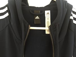 Beautiful ADIDAS zipped hoodie M