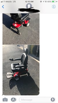 Red and black power chair collage Gaithersburg, 20878