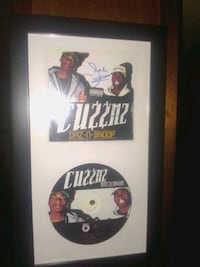 Snoop Dogg and Dad Dillinger cu$$nz CD signed n framed St. Catharines, L2T 2T6