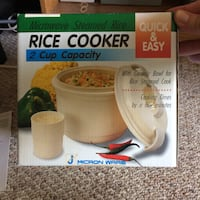 Micron ware rice cooker box Port Moody, V3H