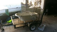 brown and black utility trailer Mobile, 36688