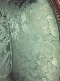 green and gray floral fabric sofa Smithtown, 11787
