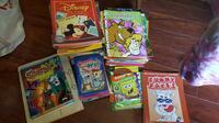Huge lot of coloring and activity books