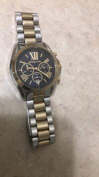 Silver & Gold Michael Kors Watch 10/10 Vaughan, L4H 0H9