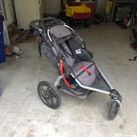black and gray jogging stroller East Falmouth, 02536