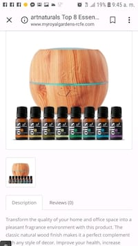 Aromatherapy oil diffuser 7 essential oils  Clarksville