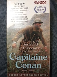 Capitaine Conan from France vhs Baltimore