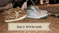 pair of white-and-brown sneakers Fresno, 93727