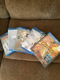Unopened BluRay DVDs New  Vancouver, 98663