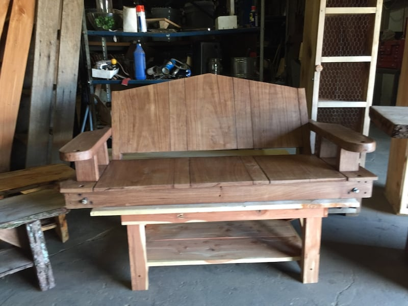Handcrafted live wood furniture 2