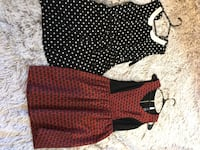 two black and red long-sleeved shirts Ann Arbor, 48104
