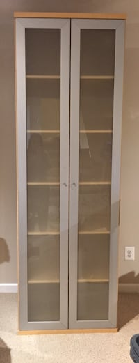 Bookcase - Ikea Billy with glass doors Perry Hall, 21128