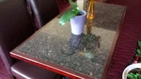 Granite table top with wood edging Quincy, 02169