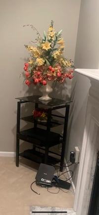 Steel glass flower stand and flower display for sale Waldorf