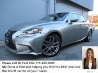 2015 Lexus IS 250 AWD Richmond