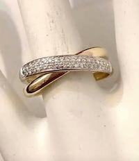 14k yellow gold custom crafted ladies diamond ring *Compare at $1,800 Vaughan, L4J