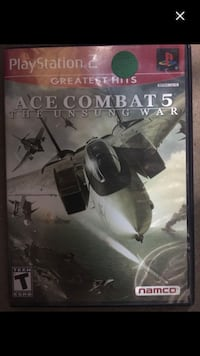 PlayStation 2 Ace Combat 5 The Unsung War $8  McDonough, 30253