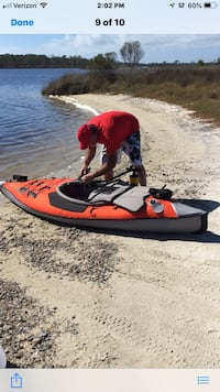 red and black personal watercraft Spencer, 47460