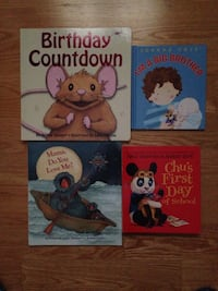 Four Children storybooks  Toronto, M8Z 3Z7