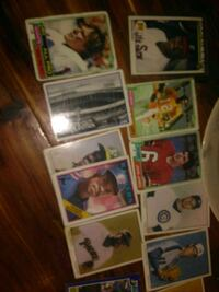 assorted baseball player trading cards Austin