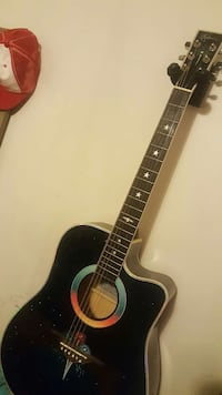 Limited edition estaban acoustic/electric guitar