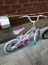 Kid (girl) bicycle