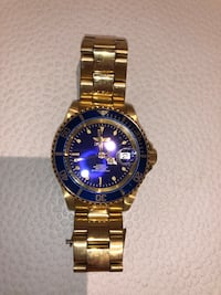 INVICTA GOLD WATCH. 8/10 condition Leesburg, 20176