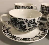 BOWRING cups with saucers  Surrey, V3S