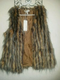 Fur Vest size S/M South Gate