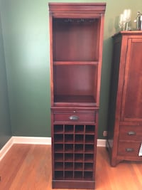 Pottery Barn modular bar with wine grid tower  Glenview, 60025