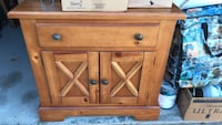 end table with  2 doors cedar wood  College Station, 77845