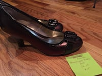 pair of black leather flats Colorado Springs