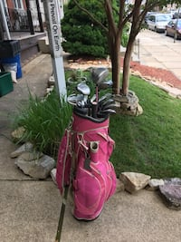 King Cobra golf clubs complete set with bag Reading, 19601