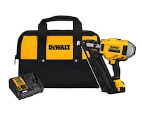 Brand NEW- DEWALT 20-Volt MAX XR Lithium-Ion Cordless Brushless 2-Speed 33-Degree Framing Nailer with Battery 4Ah and Charger Fairfield, 94534