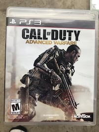 Call Of Duty Advanced Warfare ps3   Toronto, M9W 3W7