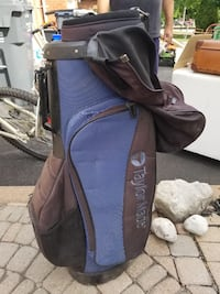 Taylor golf bag and stand
