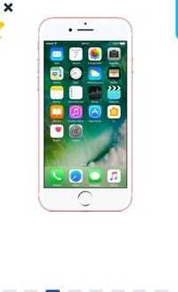 iPhone 7 plus 32 GB her renk