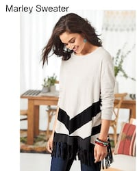 Brand New fringe sweater 3XL Montreal, H1Y 1B6