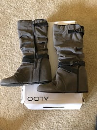Women's Aldo Grey Boots Germantown, 20874