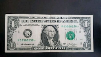 $1 Bill STAR NOTE (150*)