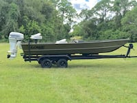 Black and brown utility trailer Palm Bay, 32907