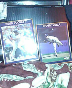 Kirby Puckett and Frank Viola aptique pictures
