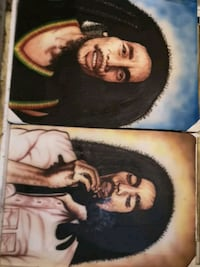 Air Brushed Paintings BOB MARLEY Airdrie, T4B 3K9