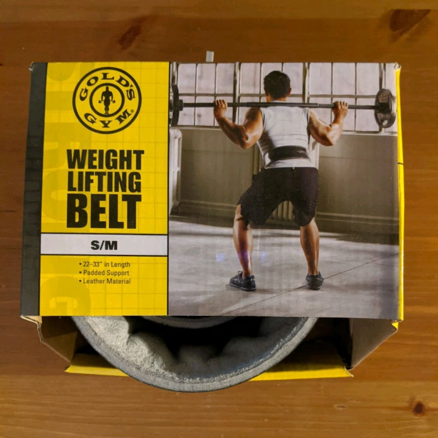Gold's Gym Weightlifting Belt - S/M - NEW