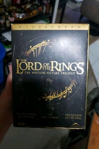 The Lord Of The Rings Box Set DVDS