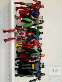 Action Super Heros/one lot 63 km