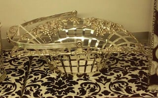 Sterling Silver Berry bowl I-16348