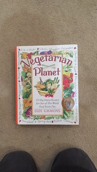 Vegetarian Planet Cookbook by Didi Emmond Herndon, 20170